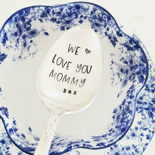 We Love You Mommy Coffee Spoon
