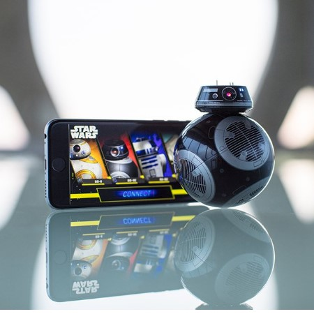 App-Enabled Droid with Trainer