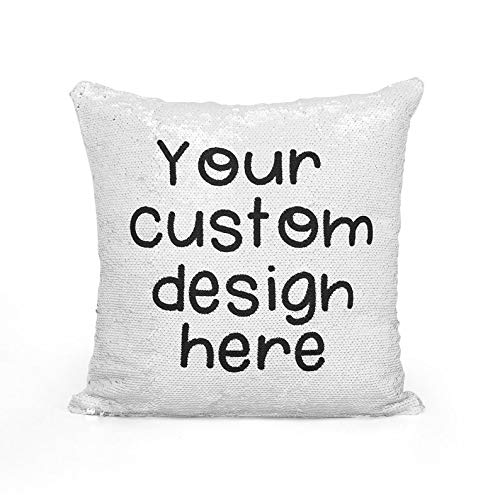 Personalized Magical Sequin Cushion