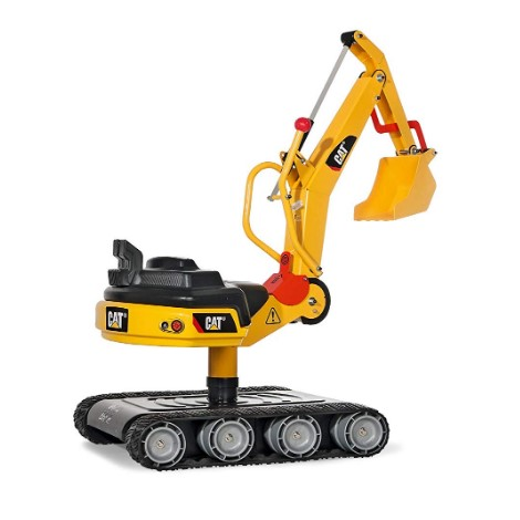 Excavator Digger with Traction Treads