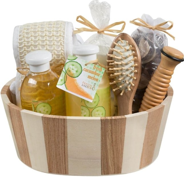 Mother's Day Wooden Massage and Reflexology Kit for Mom