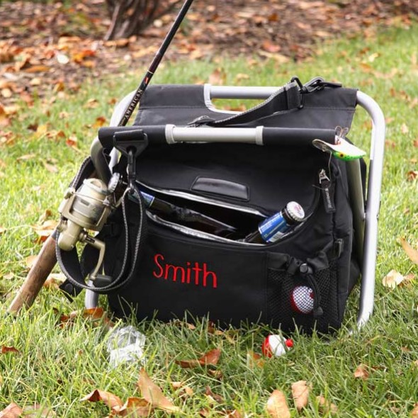 Personalised Fishing and Camping Cooler Chair