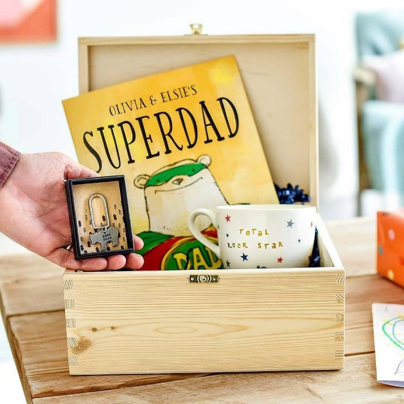 The 'Because Of You…' Father's Day Gift Box