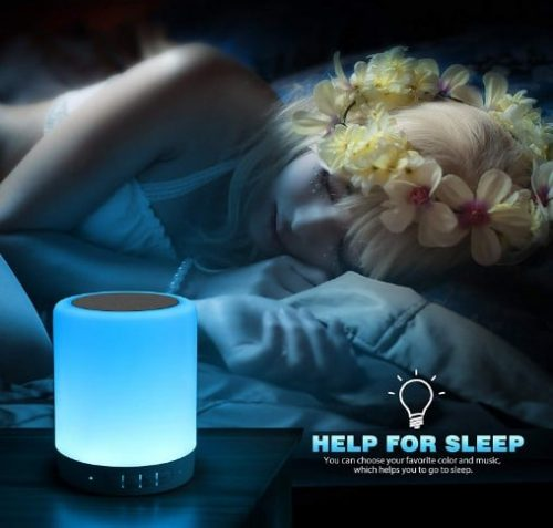Touch Lamp Helps for Sleep